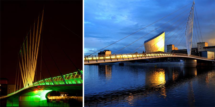 Media City Foot Bridge - 2