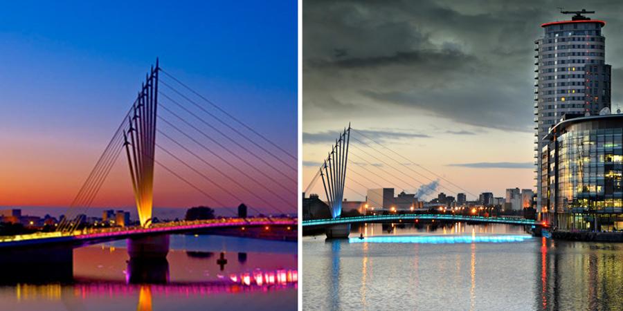 Media City Foot Bridge - 3